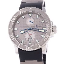 Ulysse Nardin Maxi Marine Diver pre-owned 42.5mm Date Rubber