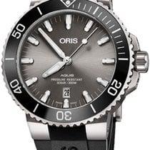 Oris Aquis Titanium Date 01 733 7730 7153-07 4 24 64TEB new