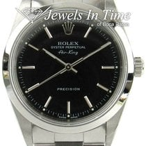 Rolex Air King Precision Steel 34mm Black No numerals United States of America, Florida, 33431