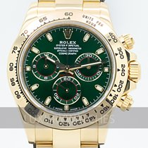 Rolex Daytona Yellow gold 40mm Green
