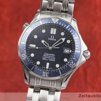 Omega Seamaster Ocel 41mm Modrá