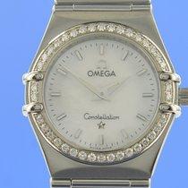 Omega Constellation Ladies Steel 25.5mm Mother of pearl