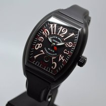 Franck Muller Conquistador King Black PVD with 1 year warranty