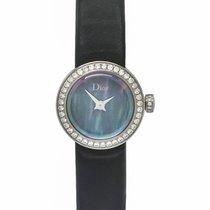 Dior La D de Dior Black Mother of Pearl Diamond Ladies Watch –...