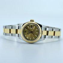 "Rolex Datejust 179163 Champagne Stick ""F"" Serial"