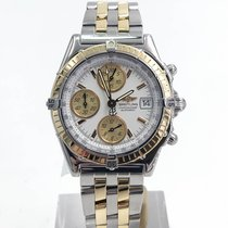 Breitling Chronomat Stainless Steel And Yellow Gold Box Only...