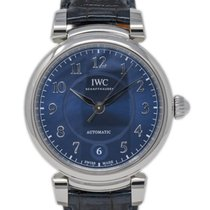 IWC Da Vinci Automatic Acero 36mm Azul