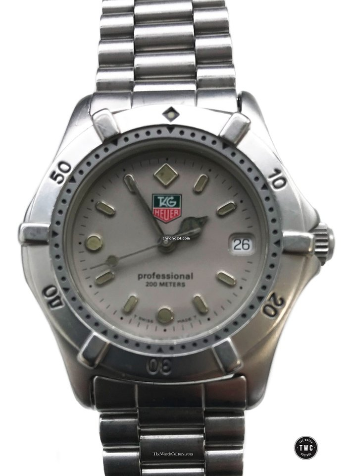 2785876026cf TAG Heuer 2000 - all prices for TAG Heuer 2000 watches on Chrono24