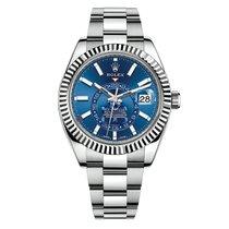 Rolex Sky-Dweller Acier Cadran Bleu 42mm