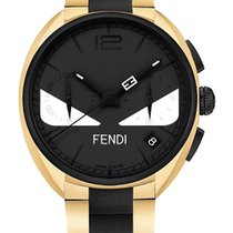 Fendi Steel 40mm Quartz F215411400 new
