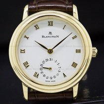 Blancpain 4795-1418-58 Lady Villeret 18K Yellow Gold 28MM (29075)