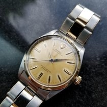Rolex Oyster Perpetual 6564 Vintage 1956 14k & SS 33mm Mens...