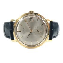 Patek Philippe Calatrava Yellow gold 35mm Silver No numerals