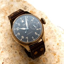 IWC Bronze Automatic Black Arabic numerals 46.2mm pre-owned Big Pilot