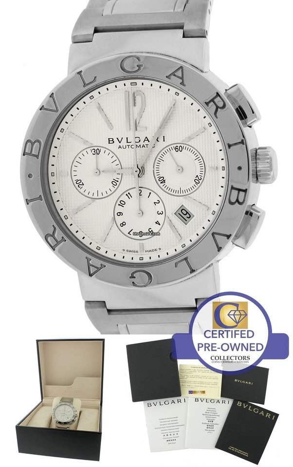 Bulgari Bulgari Steel - all prices for Bulgari Bulgari Steel watches on  Chrono24 843683752b4
