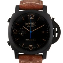 Panerai Luminor 1950 3 Days Chrono Flyback pre-owned 44mm Ceramic