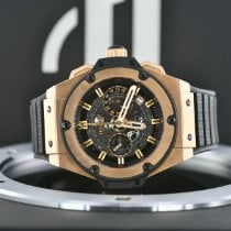 Hublot King Power Ruzicasto zlato