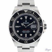 Rolex Sea-Dweller Stål 43mm Svart Ingen tall
