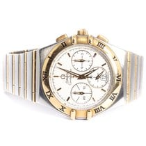 Omega Constellation pre-owned 37mm Gold/Steel