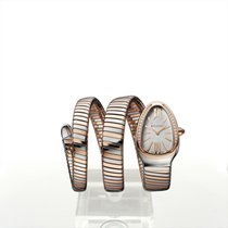 Bulgari Serpenti Gold/Steel 35mm Silver