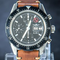 Heuer Steel 43mm Automatic 7750 pre-owned