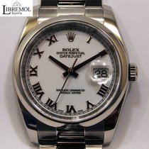 Rolex Datejust Acero 36mm Blanco Romanos España, Madrid