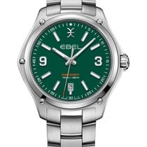 Ebel Discovery Staal 41mm Groen