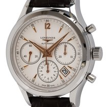 Longines Column-Wheel Chronograph Steel 39mm Silver United States of America, Texas, Austin