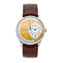 F.P.Journe Steel Automatic Gold Arabic numerals 38mm pre-owned Octa