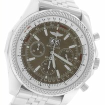 Breitling Bentley 6.75 Zeljezo 48.7mm Crn