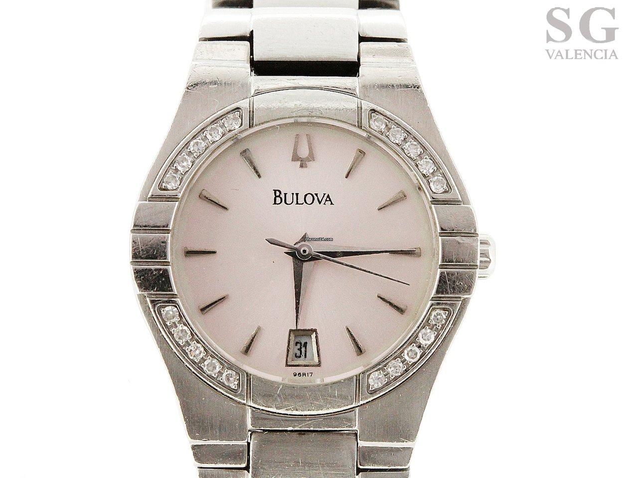 Precios de relojes Bulova mujer  d925677674d4