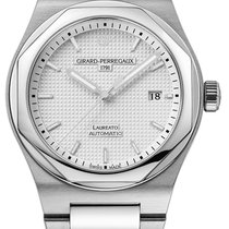 Girard Perregaux Laureato Steel 42mm Silver United States of America, New York, Airmont