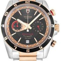 Tudor 20551N-95731BLK IND Grantour Chronograph Flyback Black...