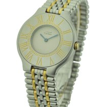 Cartier must21_quartz_2toned Must 21 Quartz 31mm - Steel with...