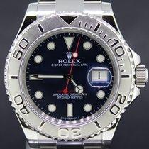 Rolex Yacht-Master Steel 40MM Blue Dial Platina Bezel FullSet...