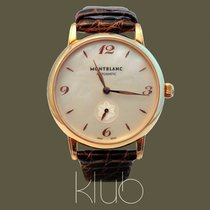 Montblanc Rose gold Automatic Mother of pearl Arabic numerals 33mm new Star Classique
