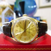 Rolex 14k Gold Shell Oyster Perpetual No Date Watch Ref: 1024