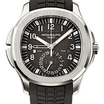 Patek Philippe 5164A-001 Mens Aquanaut Dual Time Watch