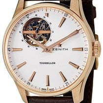Zenith Elite Tourbillon Or rose 40mm