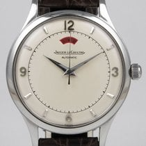 Jaeger-LeCoultre Stainless Steel Power Reserve - White Dial...