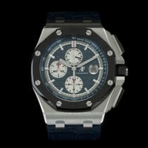 Audemars Piguet Platin Automatik 44mm neu Royal Oak Offshore Chronograph