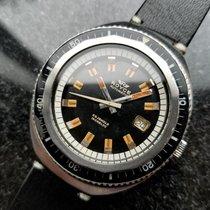 Royce Vintage Jumbo 43mm Automatic 1960s Rare Mens Swiss Diver...