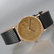 Corum Gelbgold 35mm Handaufzug Coin Watch gebraucht Deutschland, Bochum