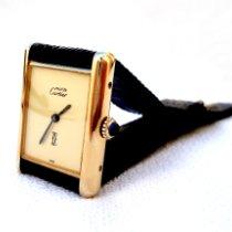 Cartier 31mm Cuerda manual usados Tank Vermeil Amarillo