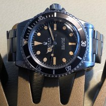 Rolex 40mm Remontage automatique 1966 occasion Submariner (No Date) Noir