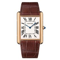 Cartier 40mm Manual winding new Tank Louis Cartier Silver