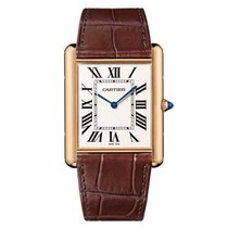 Cartier Tank Louis Cartier Rose gold 40mm Silver Roman numerals