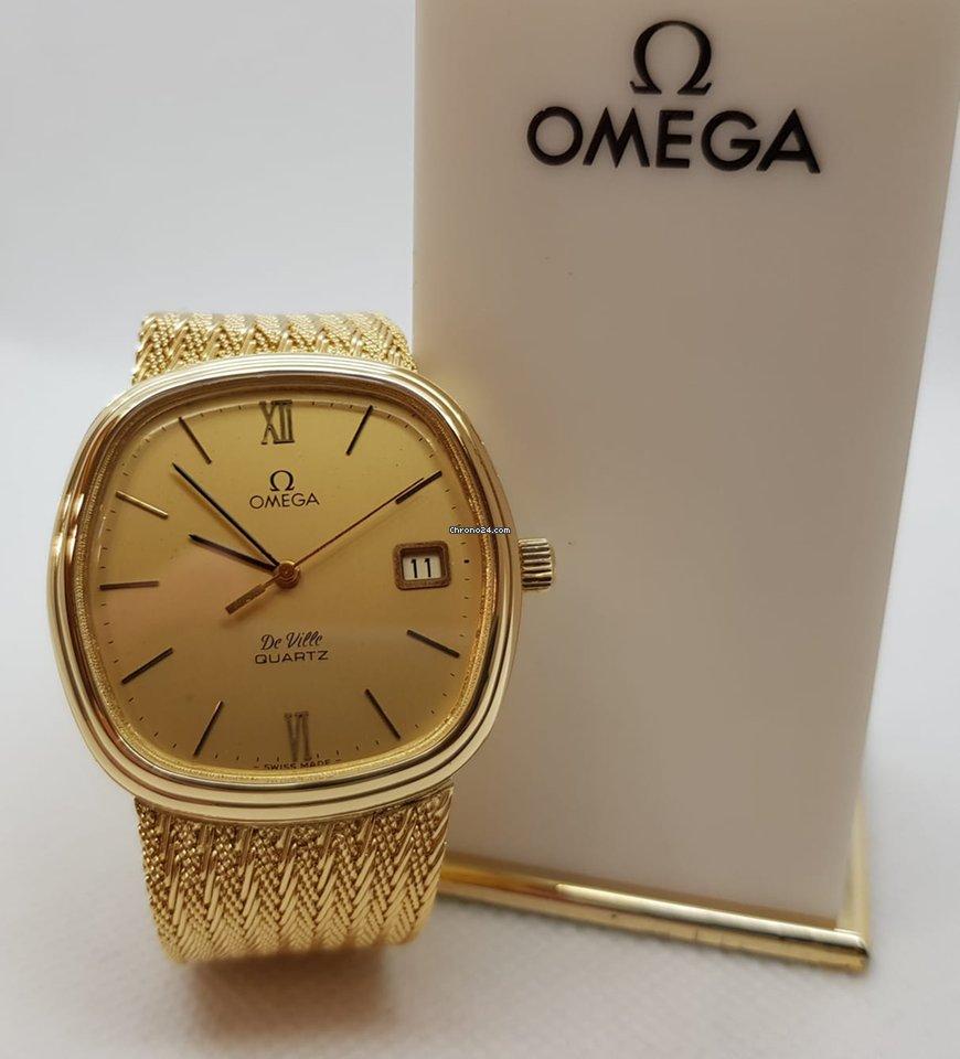 858560824db9 Omega De Ville Quartz 18kt Gold for  4