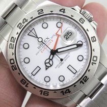 Rolex Explorer II pre-owned 41mm Steel