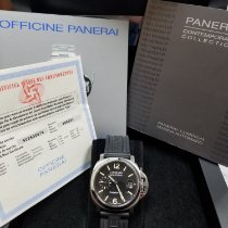 Panerai Luminor Marina Automatic Steel 40mm Black Arabic numerals